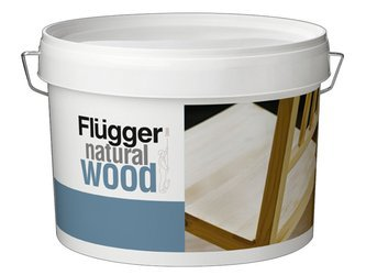 Flugger Natural Wood Lakier do drewna PÓŁMAT 0,38L
