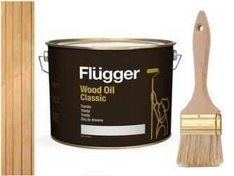Flügger Wood Oil Classic olej do TARASU DREWNA 3L