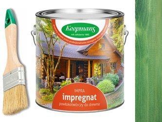 Impregnat IMPRA Koopmans 2,5L - ZIELEŃ BUTELKOWA