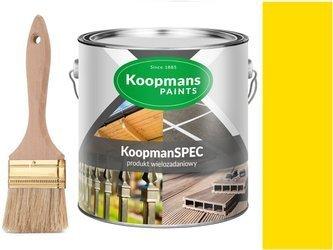 Koopmans Farba DREWNA METALI BETONU Żółty 250ml