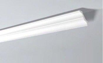 LISTWY PRZYSUFITOWE Białe NOMASTYL AT 100x95mm