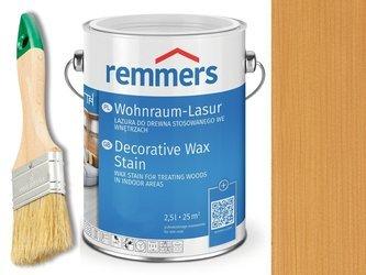 Lazura woskowa Remmers do wnętrz 0,75 L DĄB