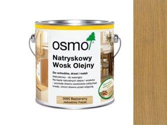 OSMO 3084 WOSK OLEJNY BEZBARWNY MATOWY 2,5L