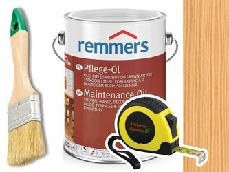 Remmers Pflege-Ol olej do drewna tarasu HEMLOK 5L
