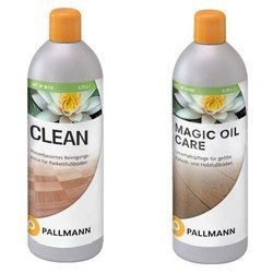 ZESTAW Pallmann MAGIC OIL CARE 0,75L + CLEAN 0,75L