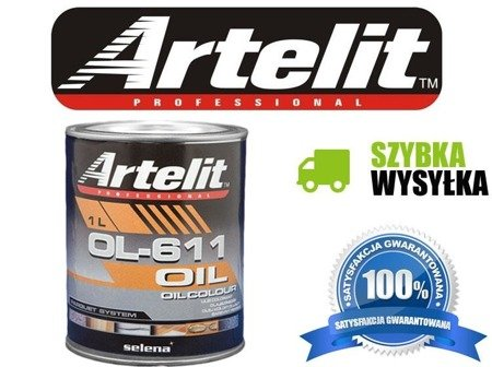 Artelit Olej koloryzujący OL-611 1l kolory