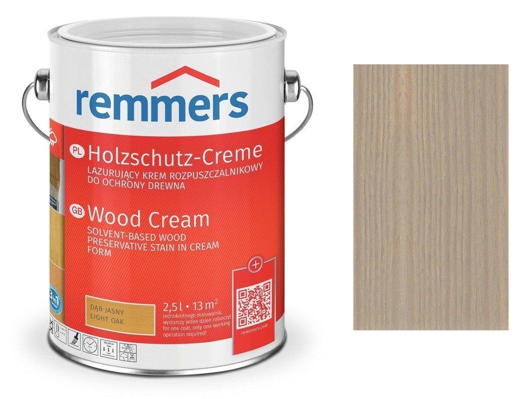 Holzschutz-Creme Remmers Srebrnoszary 2722 0,75 L