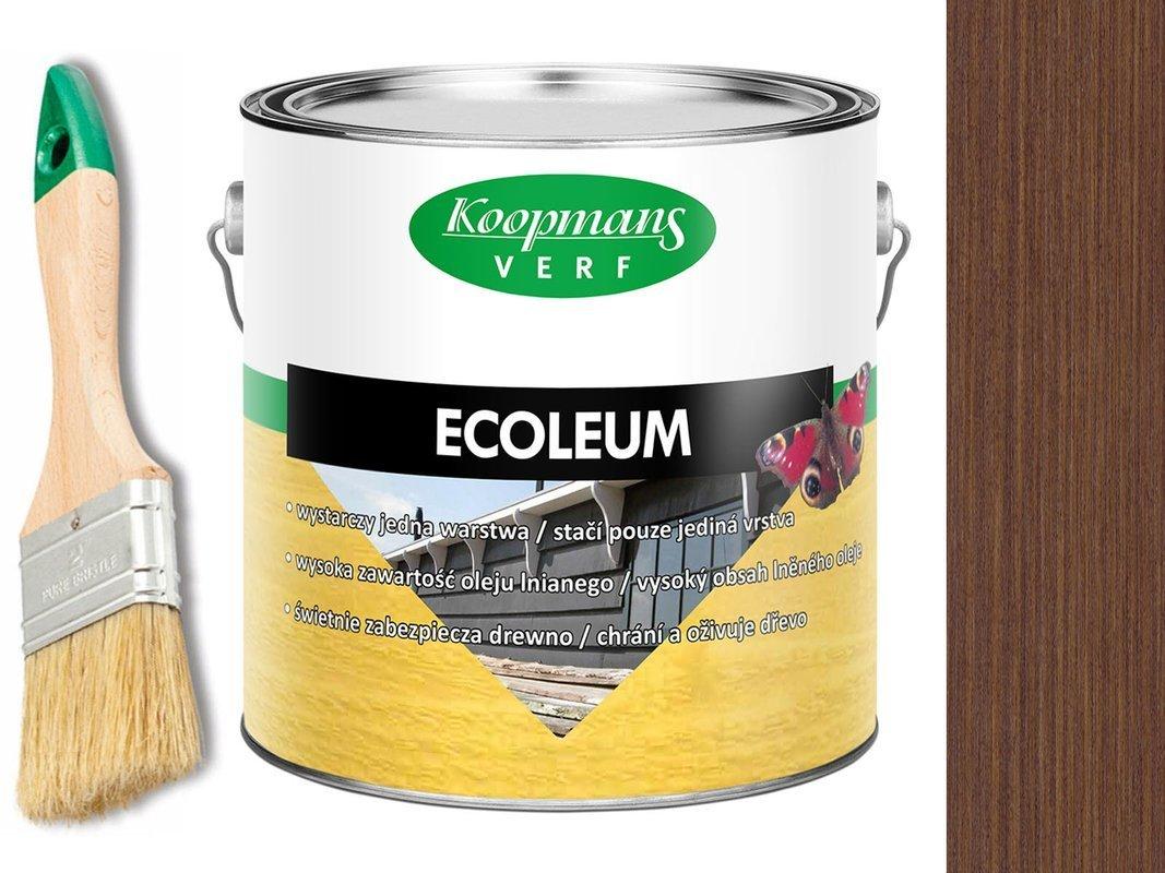 KOOPMANS ECOLEUM Impregant Olej 2,5L 210 BRĄZOWY