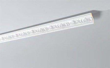LISTWA PRZYSUFITOWA BIAŁA ARSTYL Z9 70 x 35 mm