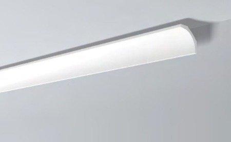 LISTWY PRZYSUFITOWE Białe NOMASTYL B1 80x65mm