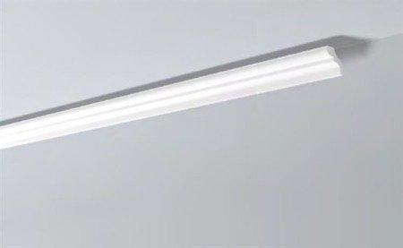 LISTWY PRZYSUFITOWE Białe NOMASTYL D 80x65mm