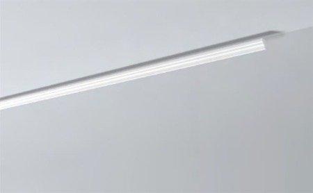 LISTWY PRZYSUFITOWE Białe NOMASTYL E 80x65mm