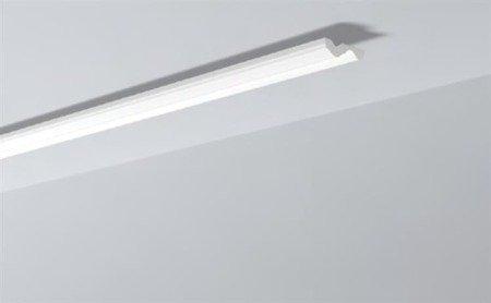 LISTWY PRZYSUFITOWE Białe NOMASTYL N 70x20mm