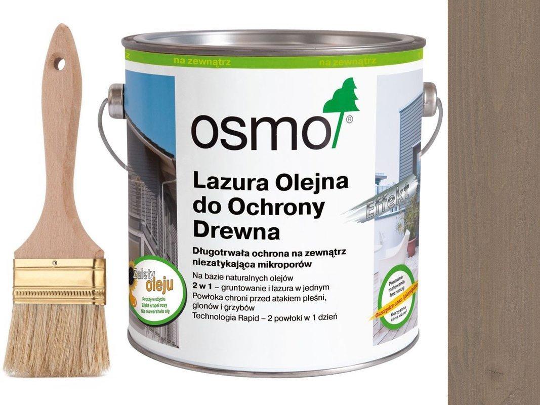 OSMO 1142 Lazura Olejna Efekt SREBRNY GRAFIT 25L