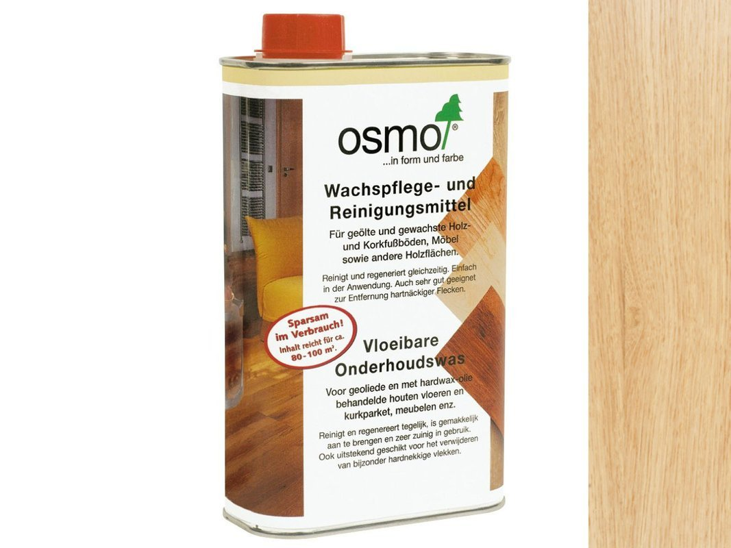 OSMO 3029 środek czyszczenia wosku BEZBARWNY 25L
