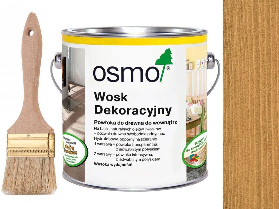 OSMO 3164 wosk dekoracyjny KOLOR DĄB 25L