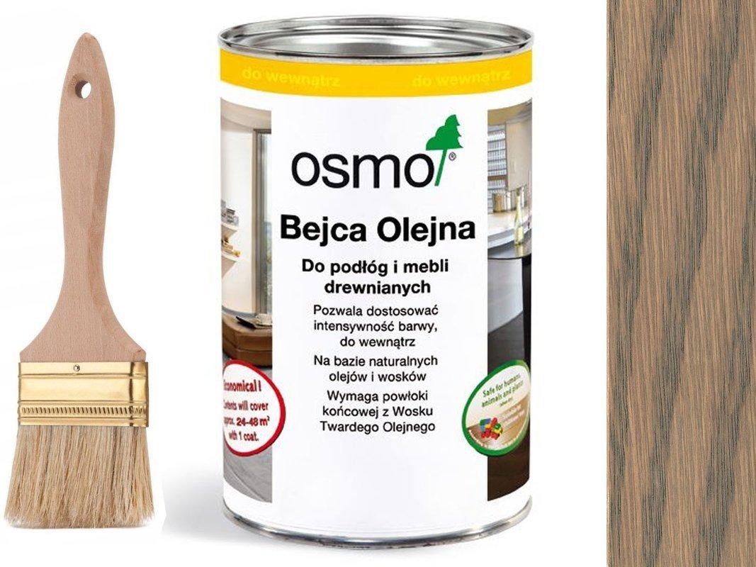 OSMO 3512 Bejca Olejna do podłóg SREBRNY SZARY 2,5