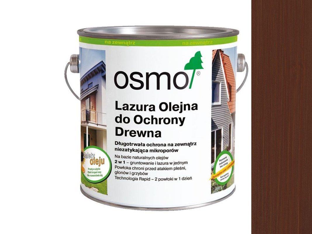 OSMO 703 Lazura Ochronna do drewna MAHOŃ 125ml