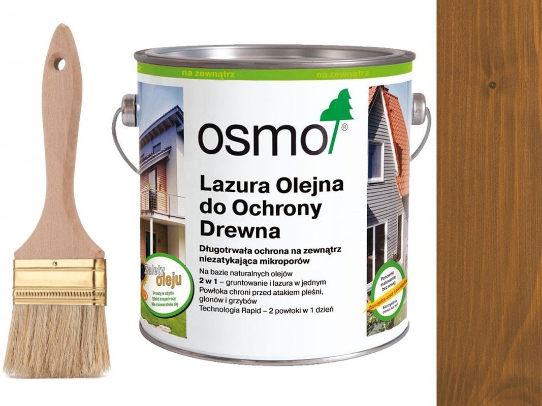 OSMO 706 Lazura Ochronna do drewna DĄB 25L