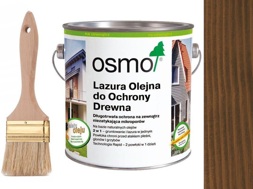 OSMO 707 Lazura Ochronna do drewna ORZECH 2,5L