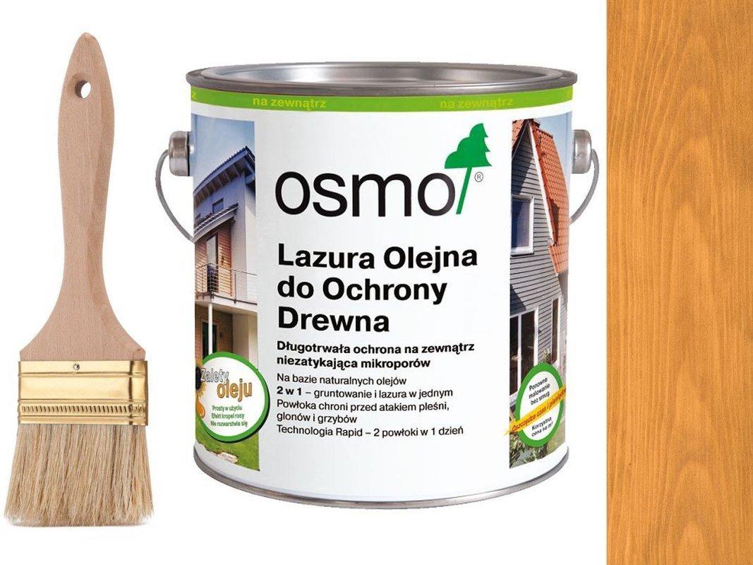 OSMO 732 Lazura Ochronna do drewna JASNY DĄB 2,5L
