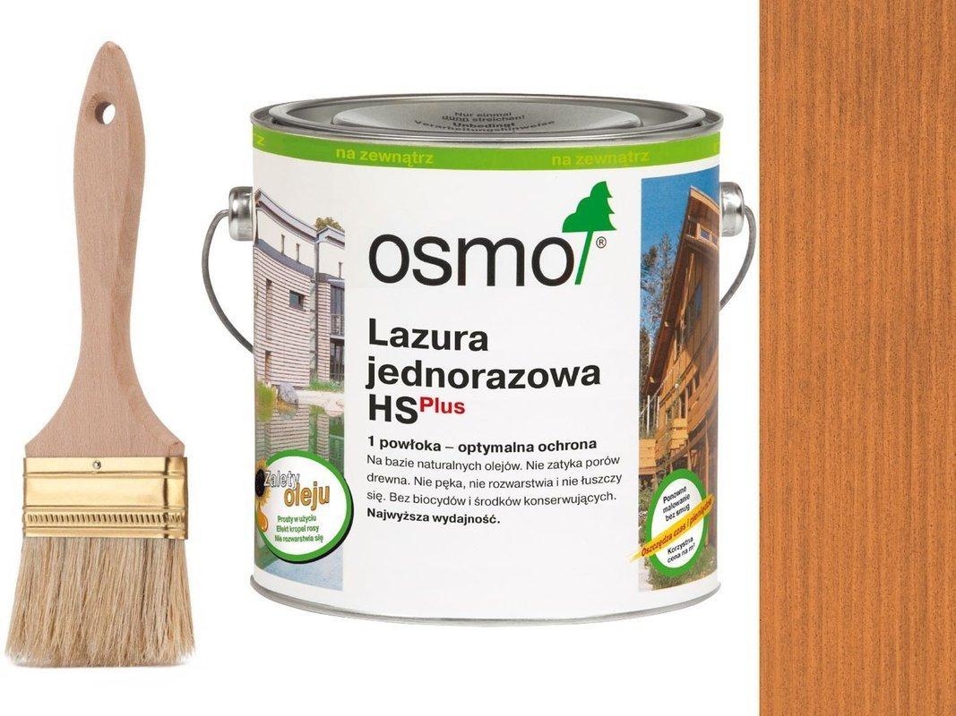 OSMO Lazura Jednorazowa 9235 CZERWONY CEDR 0,75L