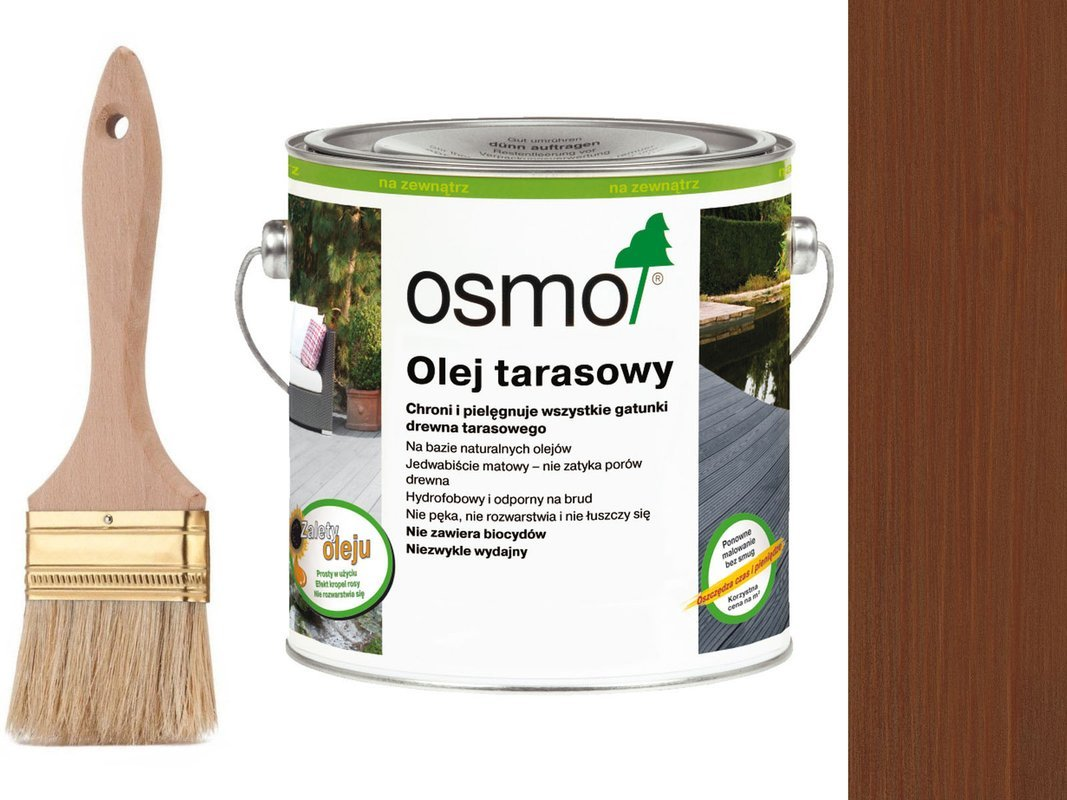 OSMO Olej do Tarasów 016 BANGKIRAI 0,75L + GRATIS