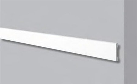 PROFIL PRZYŚCIENNY BIAŁY WALLSTYL WD4 58x 12mm